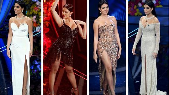 Georgina Rodríguez byla neobyčejně sexy.