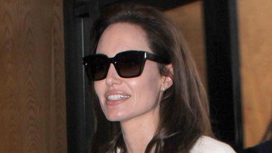 Angelina Jolie měla autonehodu.