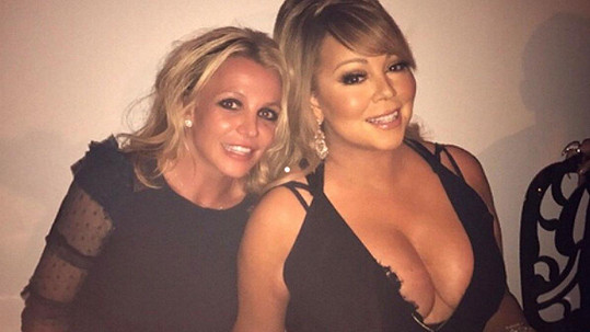 Britney se vyfotila s Mariah.