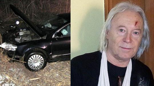 Zdeněk zázrakem přežil běsnění Josefa Rychtáře. Z auta po nárazu vypadl.