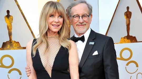 Steven Spielberg ukázal manželku.