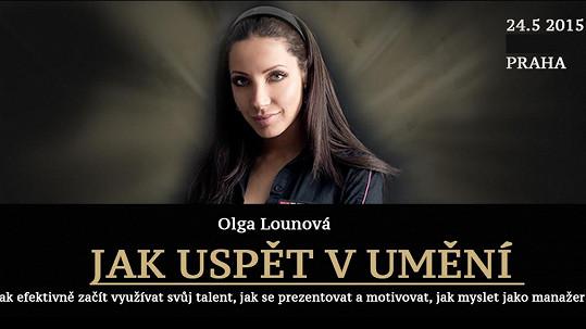 Olga Lounová s projektem Jak uspět v umění uspěla. Vysmívají se jí v celé ČR.