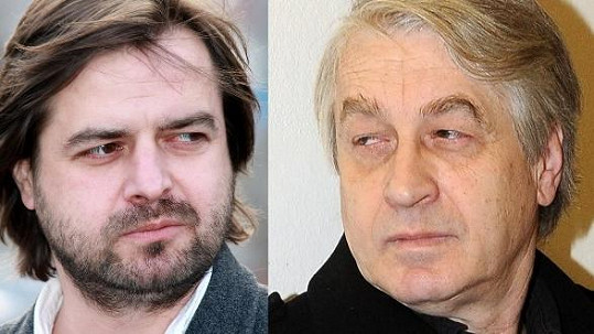 Dva nesmiřitelní soci Zdeněk Macura a Josef Rychtář.