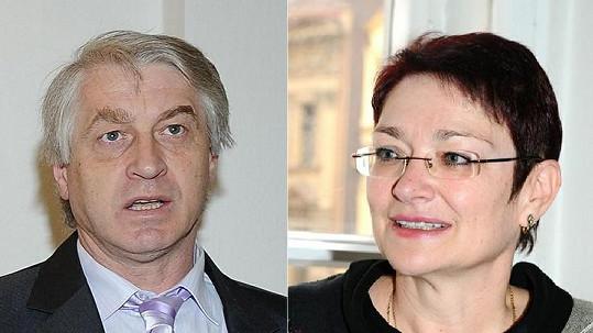 Josef Rychtář a Darina Nová, dříve Rychtářová.