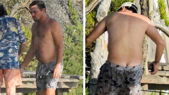 Leonardo DiCaprio vyrazil na pláž do Malibu.