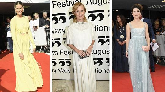 Krásné dámy na karlovarském filmovém festivalu