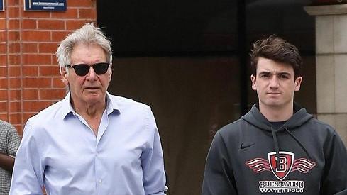 Harrison Ford se synem Liamem