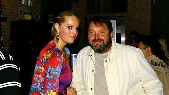 Ornella Štiková a Josef Kokta v roce 2011.