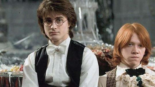 Harry a Ron ve skutečnosti nerozluční přátelé nejsou.