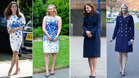 Módní blogerka Stephanie Albrecht (27) z Vancouveru v Kanadě je posedlá šatníkem vévodkyně Kate.