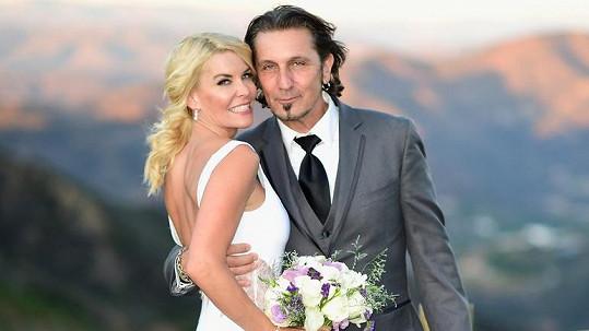 Herečka se vdávala už podruhé.