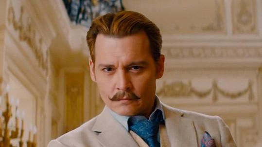 Johnny Depp ve filmu Mortdecai: Grandiózní případ