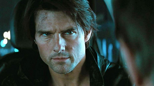 Tom Cruise ve filmu Mission: Impossible - Ghost Protocol