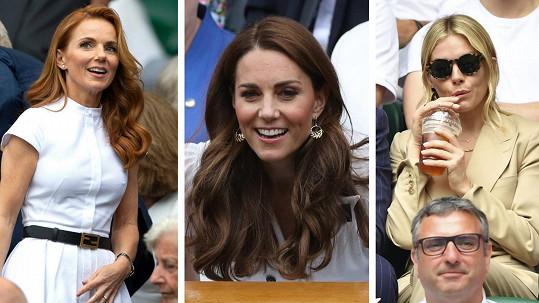 Tyto slavné dámy letos zavítaly na tenis.