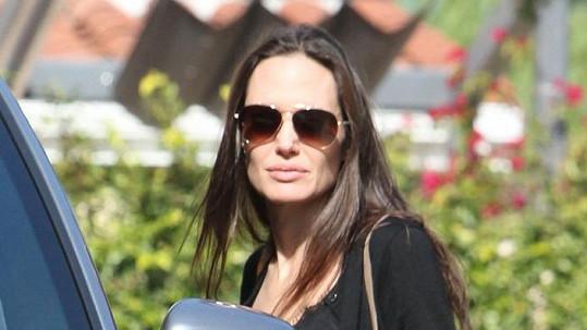 Angelina není v nejlepší formě.