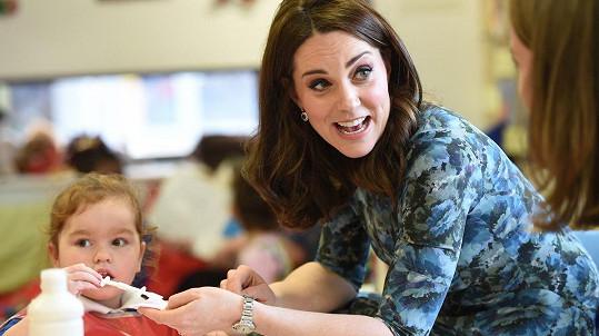 Kate je oblíbená i u nejmenších Britů.