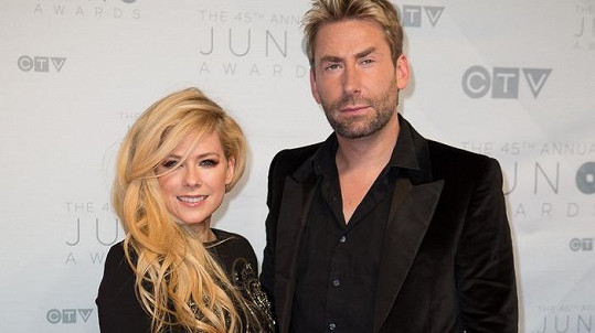Avril a Chad opět tvoří spokojený pár.