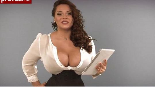 Marija Zarring jako moderátorka dokázala zaujmout.