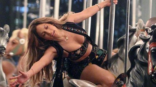 Jennifer Lopez řádila na kolotoči.