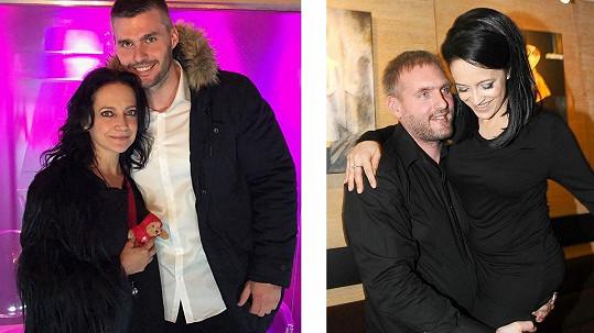 Lucie Bílá s novým přítelem a se svým ex před 4 roky