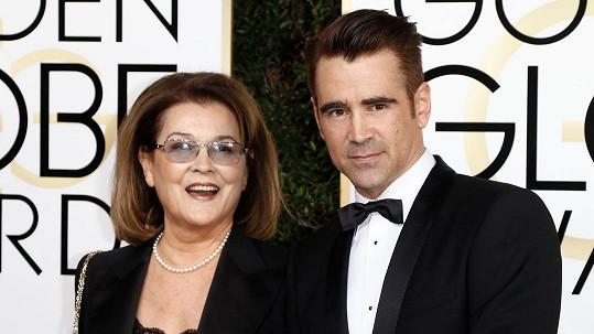 Colin Farrell s maminkou Ritou