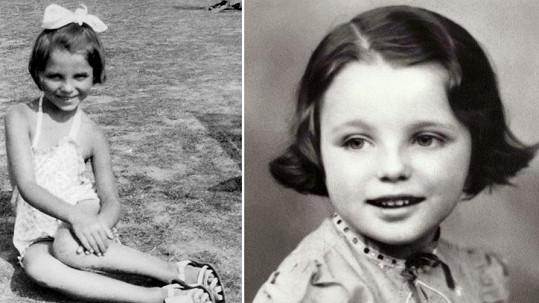 V dětství to byla nevinnost sama...