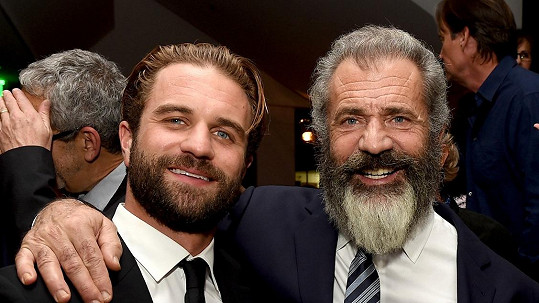 Mel Gibson se synem Milem