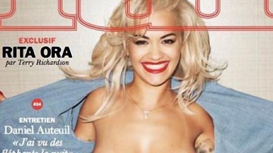Rita Ora není žádná stydlivka.