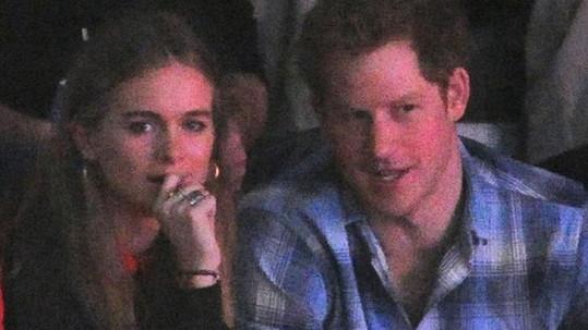 Princ Harry a Cressida Bonas se rozešli.