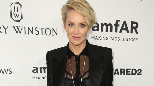 Sharon Stone je pořád sexy.