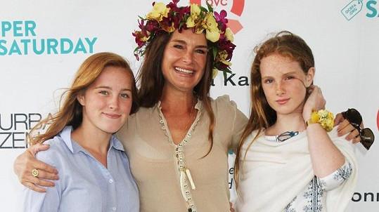 Brooke Shields s dcerami