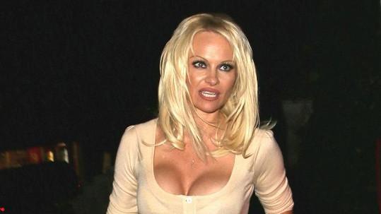 Pamela Anderson jde proti davu...
