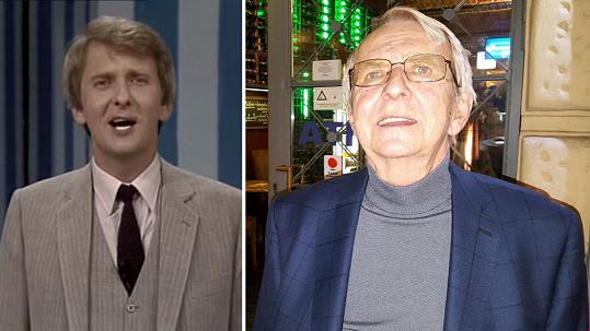 Pavel Lukeš před 34 lety a dnes