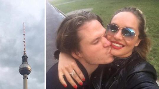 Ondřej a Taťána byli pár dnů před svatbou v Berlíně.