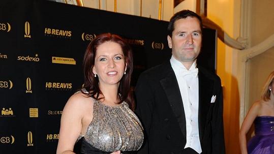 Robert Záruba a Nora Fridrichová se báli o dítě.