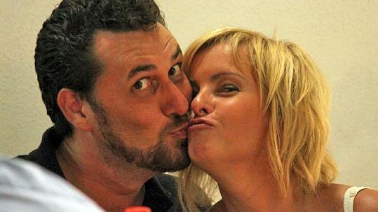 Domenico Martucci a jeho bývalá přítelkyně Iveta Bartošová.