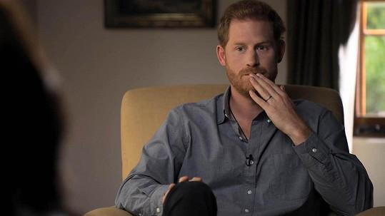 Princ Harry v novém dokumentu