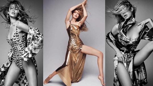 Topmodelka Gigi Hadid (22) nafotila krásný vizuál pro německý Vogue.