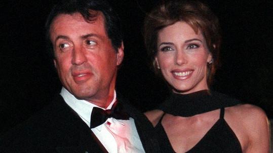 Sylvester Stallone a Jennifer Flavin oslavili 23. výročí svatby.