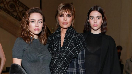 Lisa Rinna s dcerami Delilah a mladší Ameliou (vpravo)