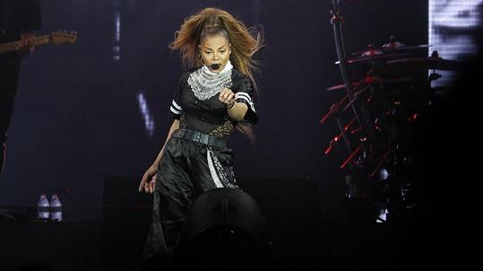 Janet Jackson vyrazila fanouškům dech.