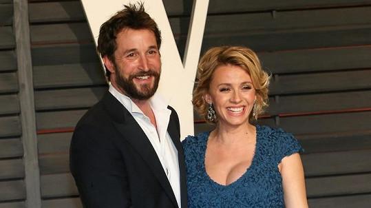 Noah Wyle s manželkou Sarou Wells