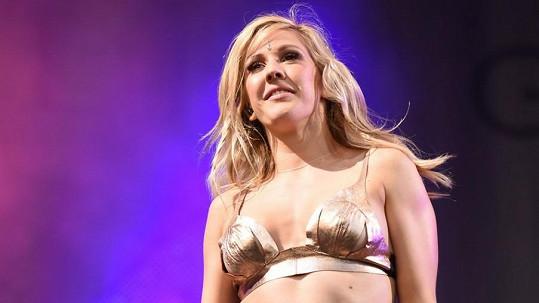 Ellie Goulding to v Glastonbury rozjela.