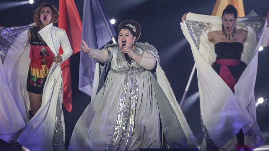 Bojana Stamenov je favoritkou Eurovize.