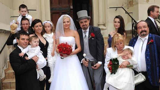 Pavel Novotný vyzrál na manželku Veroniku drsnou předmanželskou smlouvou.