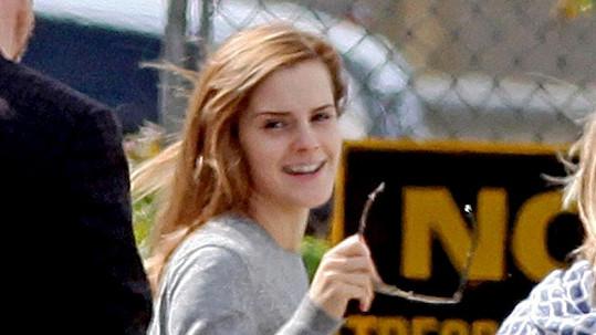 Emma Watson je okouzlující za všech okolností.