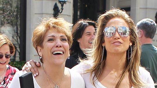 Jennifer Lopez s maminkou