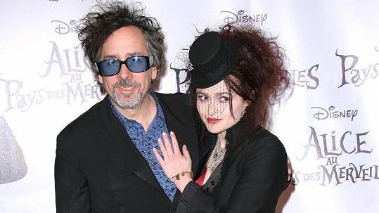 Tim Burton a Helena Bonham Carter tvořili pár 13 let.