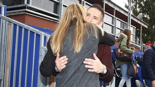 Lucie Šafářová a Tomáš Plekanec jsou si vzájemně oporou.