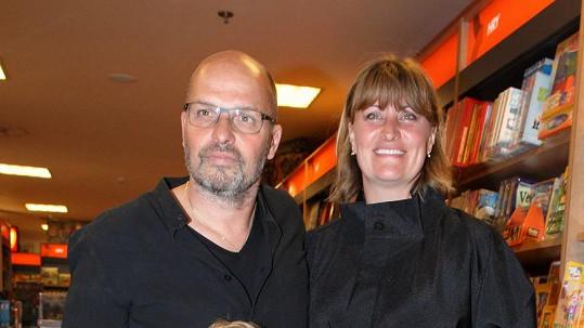 Zdeněk Pohlreich s manželkou Zdeňkou